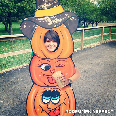 Our favorite time of year! Corn mazes, hay rides and Pumpkin White Chocolate Iced Coffee! #DDPumpkinEffect