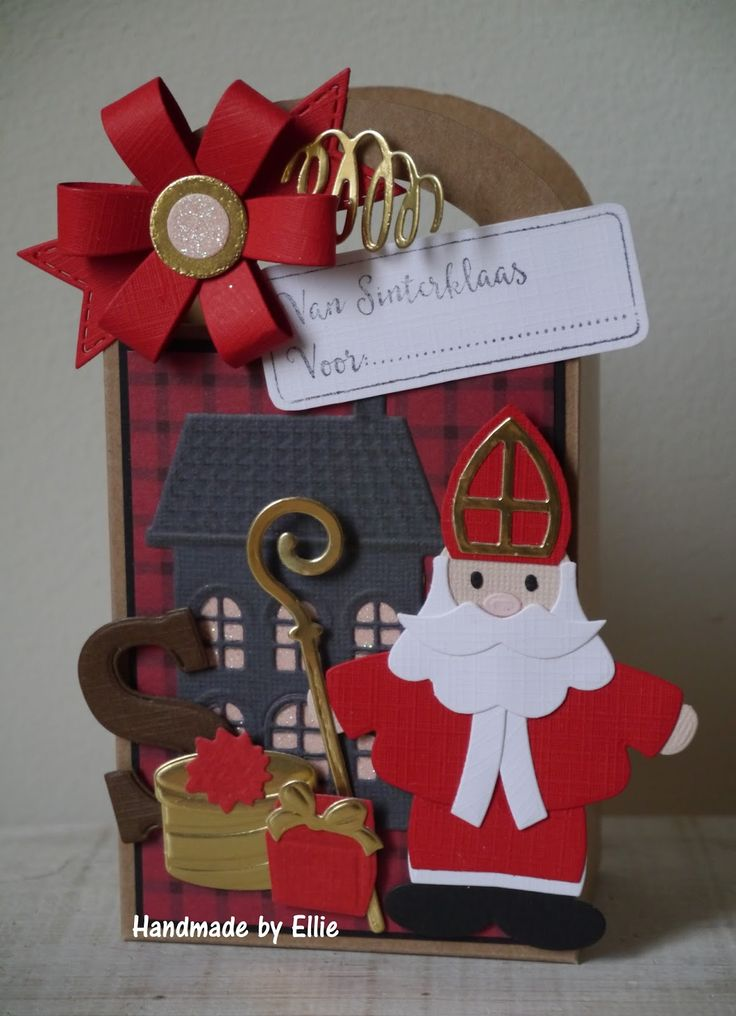 Dag allemaal,     Het is alweer bijna 5 december en hoe leuk is het dan om zelf een kadoverpakking te maken. Met de nieuwe MD Sinterklaas ...