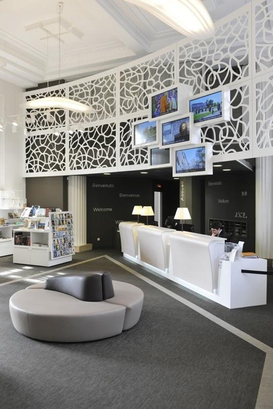 Le Comptoir Du0027accueil Et Lu0027espace Boutique © Philippe Gisselbrecht / Office  De