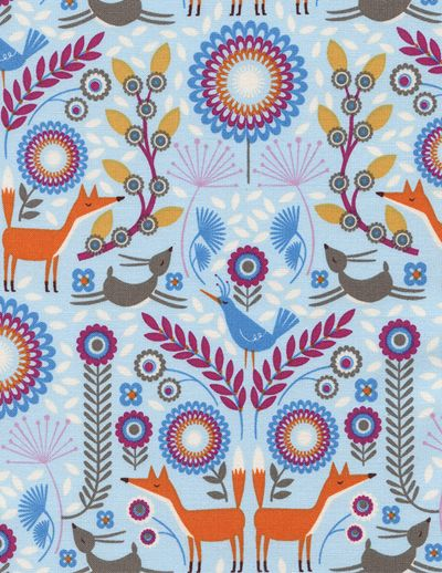print & pattern: FABRICS - timeless treasures
