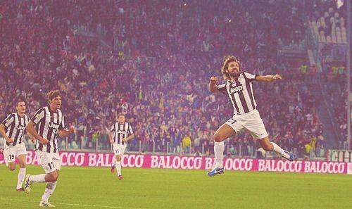 PIRLO!  Juventus - Roma.