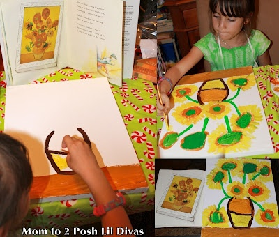 Exploring the great artists with children