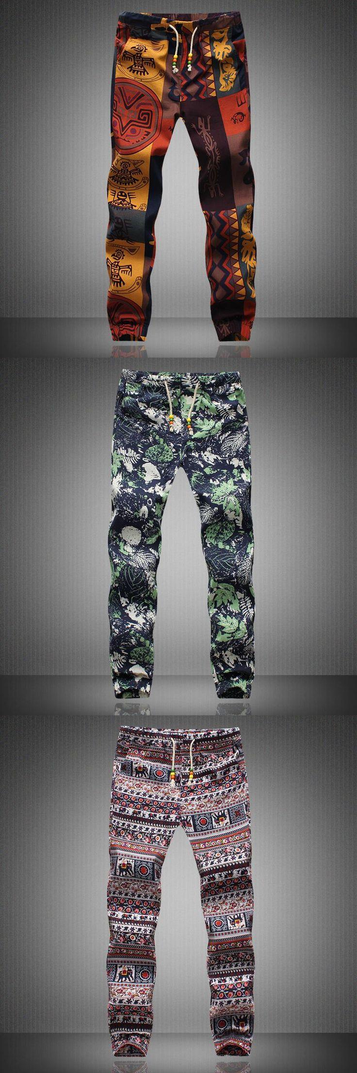 Mens Joggers 2017 Brand Male Trousers Men Linen Pants Casual Pants Sweatpants Jogger CHOLYL CHOLYL