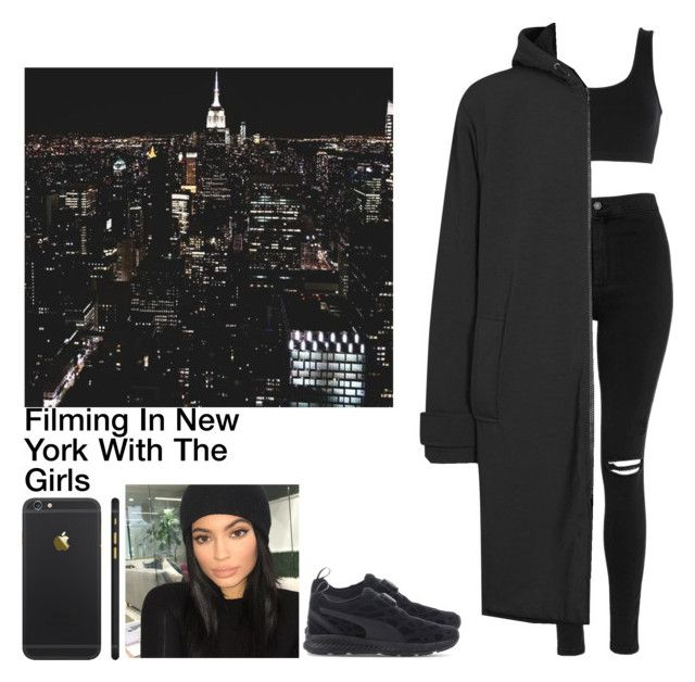 """""""Filming In New York With The Girls"""" by britneygeminigirl on Polyvore featuring Topshop, adidas Originals and Puma"""