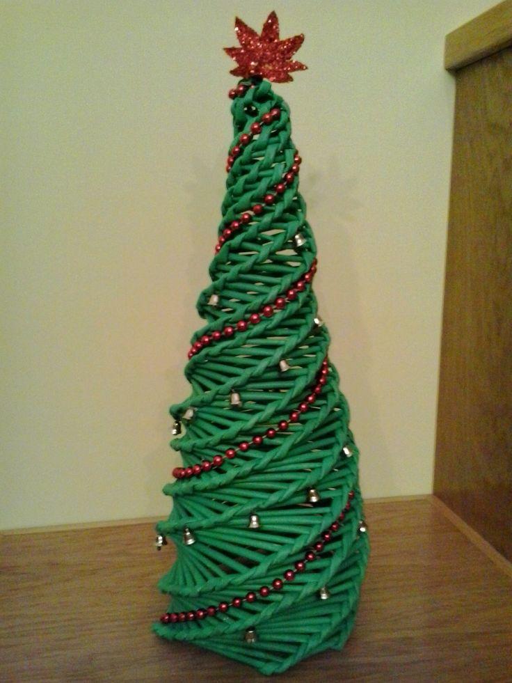 Arbore de nadal de periódico