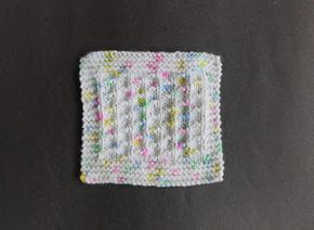 Bonding Squares are knitted in pairs. Bonding Squares Ben Simple Square ...