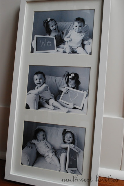 Granparent Gift Idea, our kids will be blessed with six wonderful grandparents:)