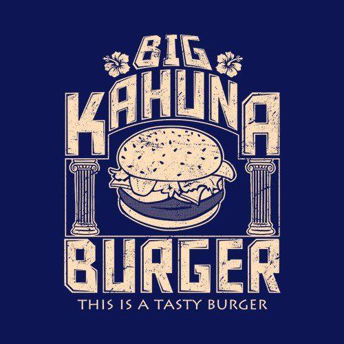 Big Kahuna Burger T-Shirt - FiveFingerTees