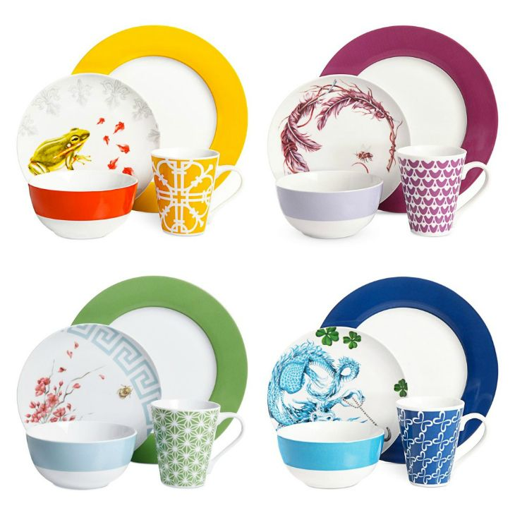 Dress Up Your Dinner Clinton Kelly Dinnerware at Macys  sc 1 st  Pinterest & 92 best Dinnerware images on Pinterest | Dish sets Dishes and ...