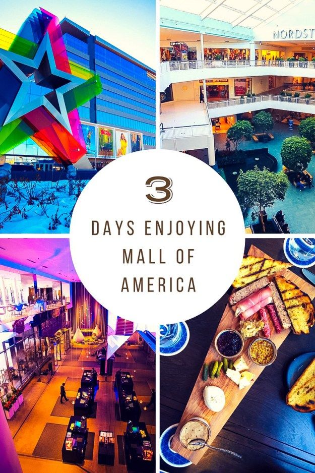 3 Days in Mall of America in Bloomington (near Minneapolis), Minnesota. Everything you need to show to save while shopping and to enjoy your trip to the mall.