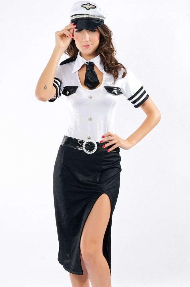 $32.95 Hot Mile High Pilot Costume