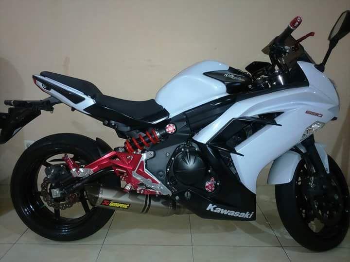 Lapak Moge Bekas Kawasaki ER6F 2013 Dijual - JAKARTA - LAPAK MOTOR BEKAS | MOTKAS
