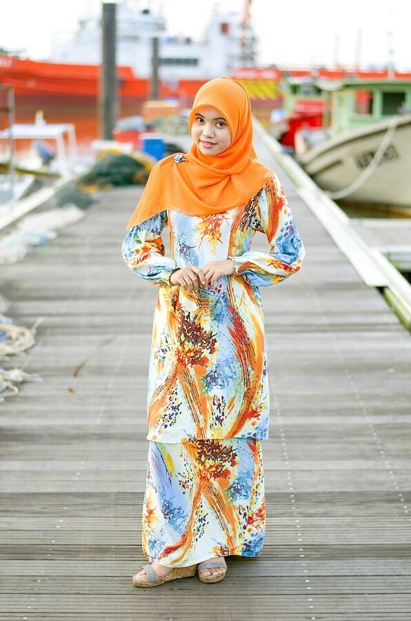 Malay girl, Malaysia.
