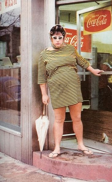 Divine (as Dawn Davenport) from John Waters' Female Trouble, 1974