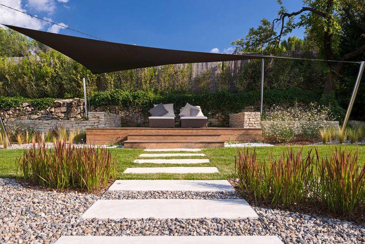 les 25 meilleures id es de la cat gorie cr ation de jardin contemporain sur pinterest. Black Bedroom Furniture Sets. Home Design Ideas