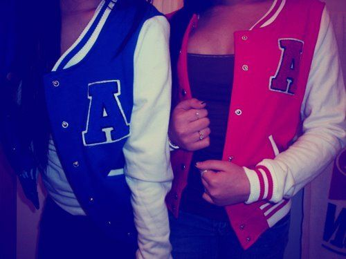 Letter Jacket... awesome look