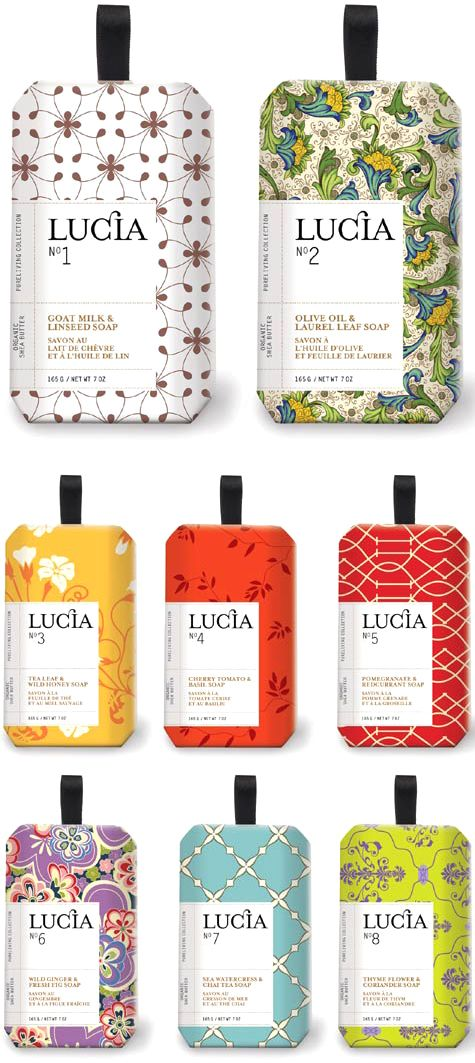 Lucia Soaps via design-vagabond..... that's kinda cool... I might need some just cause they r LUCIA