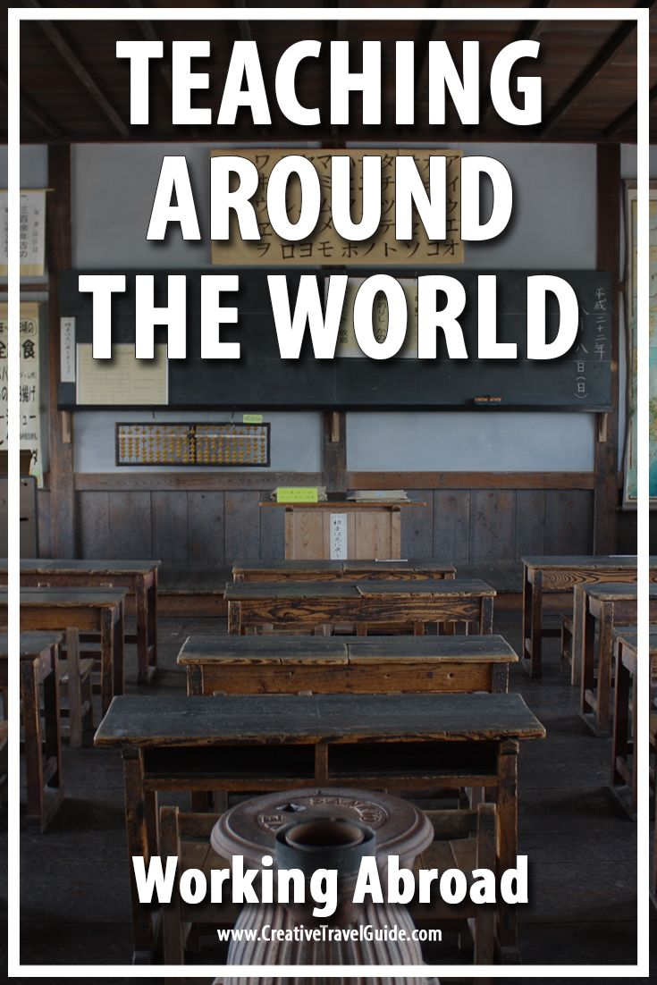 Working Abroad – Teaching Around the World