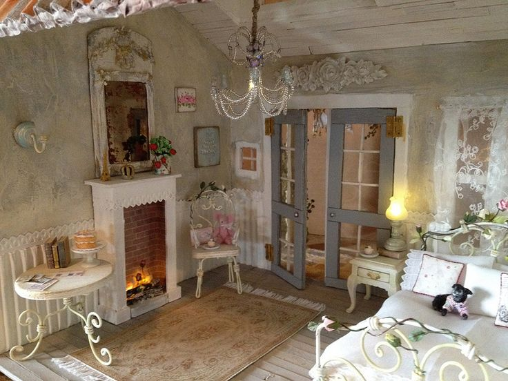 17 best images about dollhouse bedroom ideas on pinterest. Black Bedroom Furniture Sets. Home Design Ideas