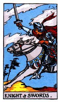 12 de Espadas, Significado de las cartas del Tarot