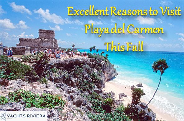 Playa del Carmen seems like the quintessential beach location to unwind, relax, and let all your worries simply melt away. Book a boat rental in Playa Del Carmen and find out why fall season is an excellent time to visit Playa Del Carmen.