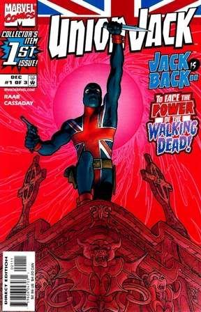 union jack marvel comics   Union Jack: London Falling (2006-2007) (Mini-Series) Marvel Comics ...