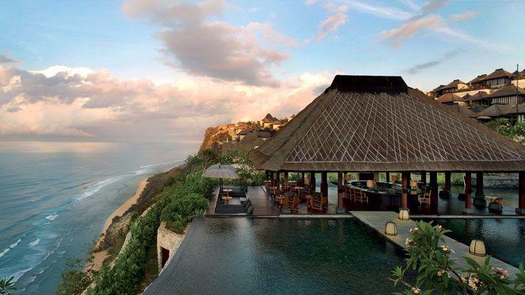 one of the world best resort. The Bulgari Resort and Spa,Pecatu,Bali Island,Indonesia.