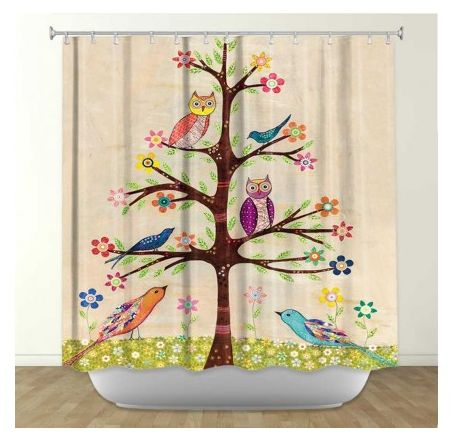 #owls #owl #shower #curtains