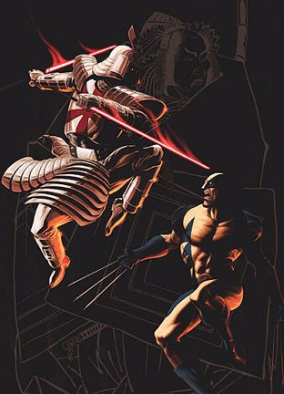 The Wolverine vs Silver Samurai - See best of PHOTOS of the WOLVERINE film  http://www.wildsoundmovies.com/the_wolverine_vs_silver_samurai.html