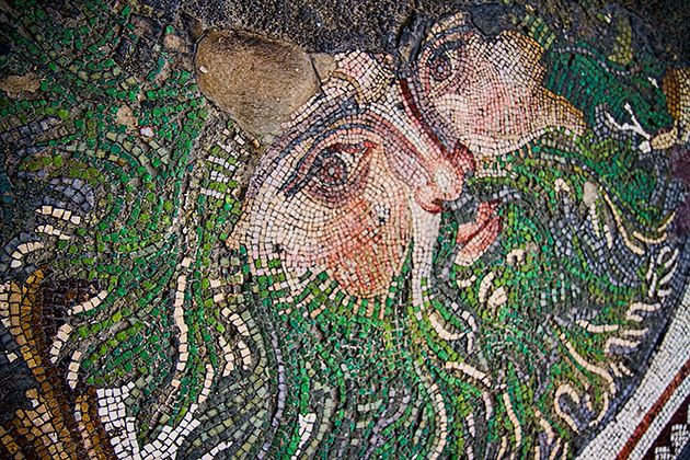 Great Palace Mosaic Museum in Istanbul