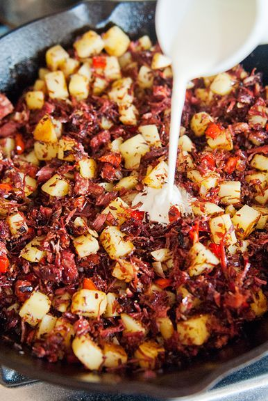 Corned Beef Hash Recipe Use Real Butter In 2019 Corned