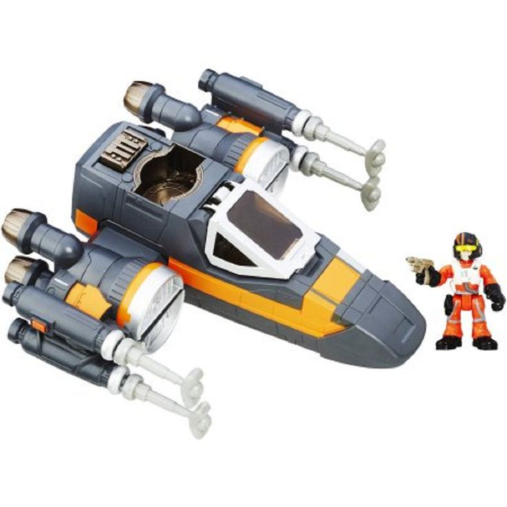 Star Wars Galactic Heroes Poe's X-Wing Fighter