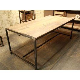 Spinder Design Esstisch Blacksmith
