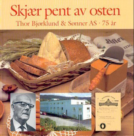 """""""Skjær pent av osten - Thor Bjørklund - lillehamringen som oppfant ostehøvelen"""" av Kristian Hosar"""