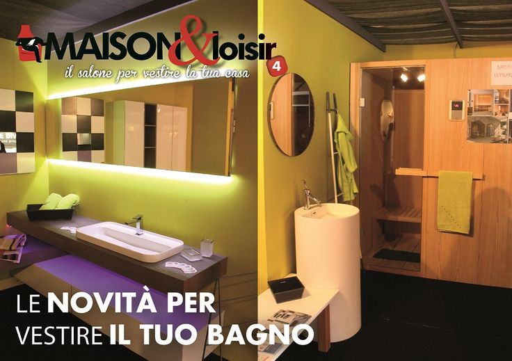 Tutte le novità per vestire al meglio il tuo bagno.. #maisonloisir2015 #novità #bagno #arredobagno #tendenze #arredamento #interni #casa #home #spa #sauna #wellness #idea #sanitari #bathroom #ideeperlacasa