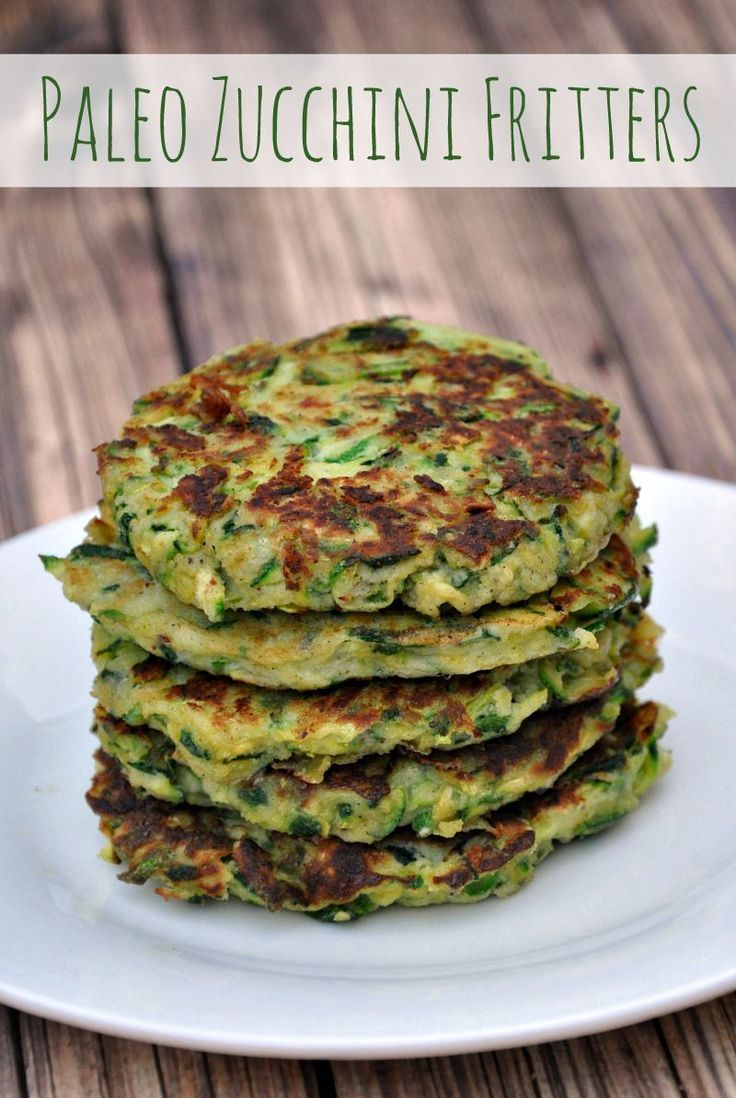 Paleo Zucchini Fritters | Recipe | Gardens, Zucchini fritters and Will ...