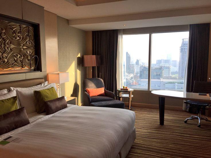 Executive room at Amari Watergate Bangkok Hotel Thailand Travel Tips