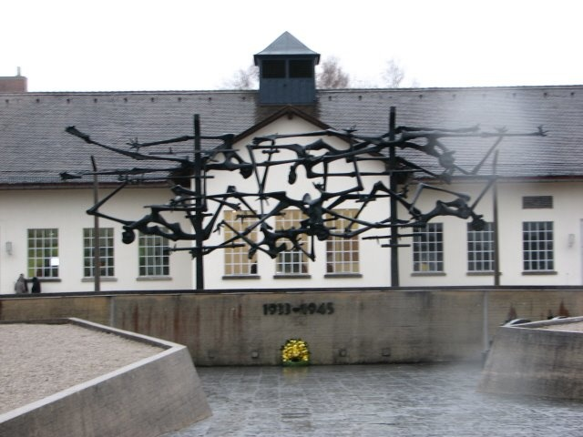 There truly is a bone-chilling feel at Dachau Concentration Camp near Munich, Germany. The temperature changed as soon as we left the camp!