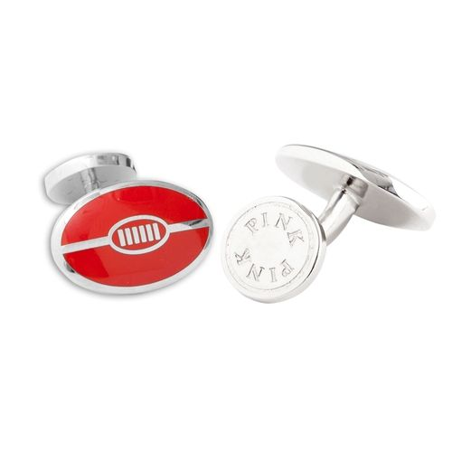 the lions rugby ball cufflinks Red from Thomas Pink on Catalog Spree ...