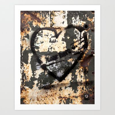 Tear here Art Print by Plasmodi - $16.00