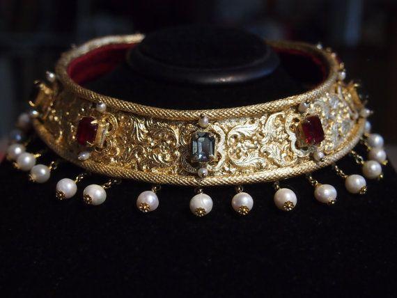 16th Century German Collar  as seen in by evajohannastudios, €420.00