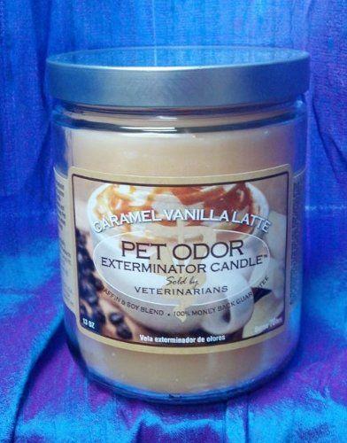 Pet Odor Exterminator Caramel Vanilla Latte Deodorizing Candle, 13-oz jar - http://www.thepuppy.org/pet-odor-exterminator-caramel-vanilla-latte-deodorizing-candle-13-oz-jar/