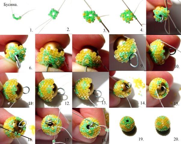 Beads Miyuki - a master class for beginners