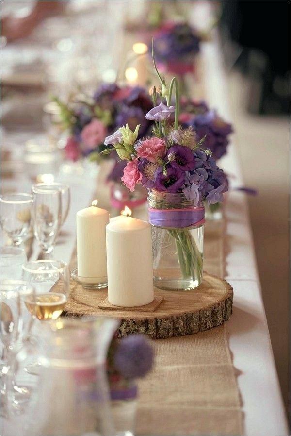 Lavender And Burlap Wedding â