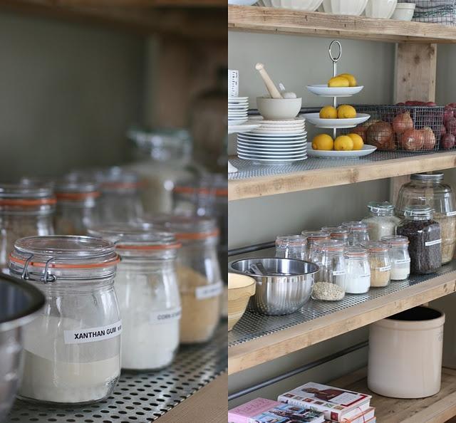 Best Kitchen Shelf Ideas Images On Pinterest Open Shelves