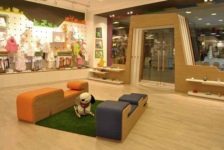 children clothing store by oso architects istanbul retail design