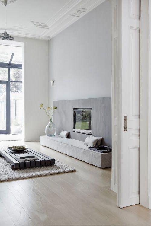 60 best images about wohnzimmer grau on pinterest | grey, fur and ... - Interior Design Wohnzimmer Modern