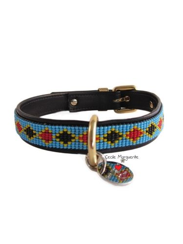 Collare per Cani in Pelle morbida con applicazioni di Perline Soft Leather Dog Collar with Beads #cmlovepets #cecilemargueritelovepets #cutedogs #dogaccessories #luxurypet #animallovers #puppy #cuccioli #pets #petlovers #petslovers #petslove #petslover #doglove #doglovers #accessoripercani #accessorilussopercani #petsaccessories #petsaccessory #cani #cane #dog #dogs #luxurydogaccessories #modacani #lussopercani #lussocani #collaripelle #collarepelle #leathercollar #collaricani #madeinitaly