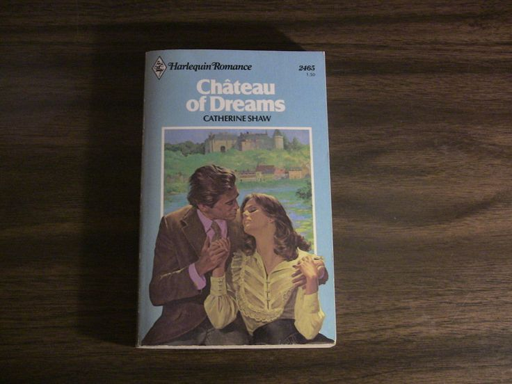 Vintage Harlequin Romance Book #2465 Chateau of Dreams Catherine Shaw 1982