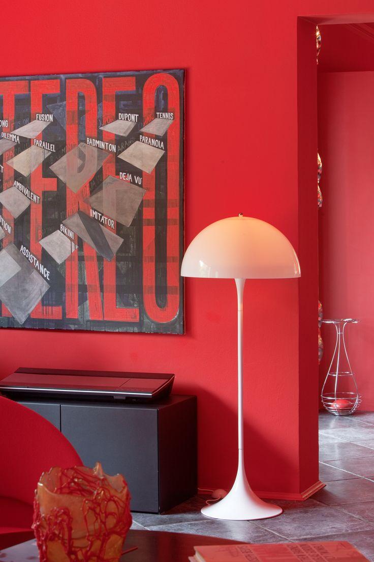 PantonHouse — Hamburg, Germany. Photographer: Paul Kozlowski. Product: Panthella Floor.